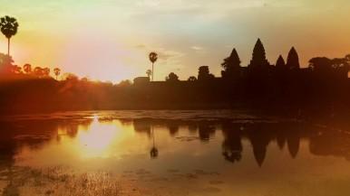 Ankor Wat sunrise. Photo by Brianna Kessler